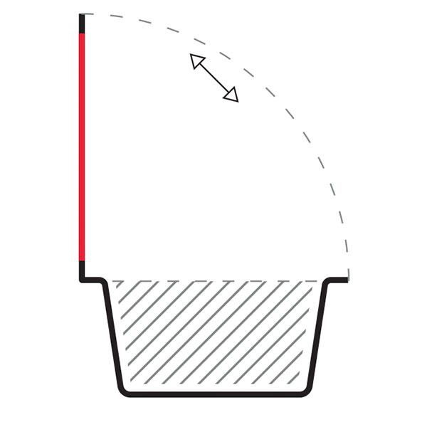 Schalenverpackung Peelpaq