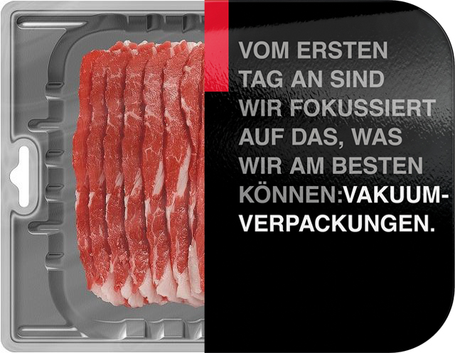 Steak in Schalenverpackung